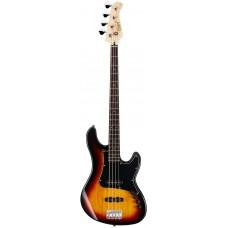Бас-гитара CORT GB34JJ (3 Tone Sunburst)