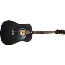 Акустическая гитара MAXTONE WGC4010 (BK)