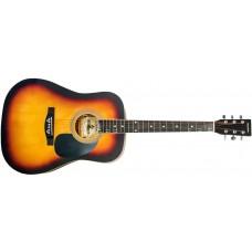 Акустическая гитара MAXTONE WGC4010 (SB)