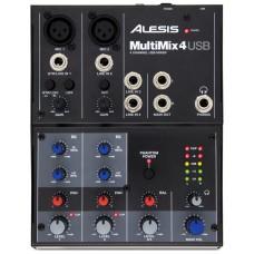 Микшерный пульт аналоговый Alesis MULTIMIX 4 USB