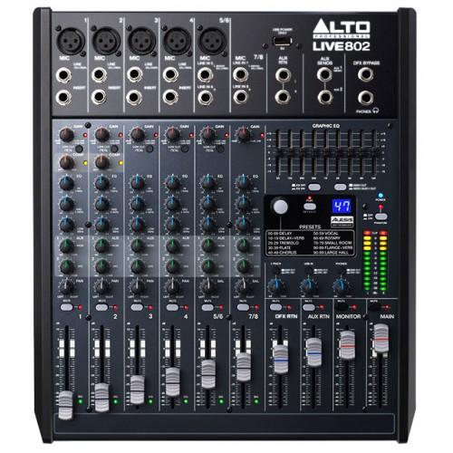 Микшерный пульт аналоговый Alto Professional LIVE 802