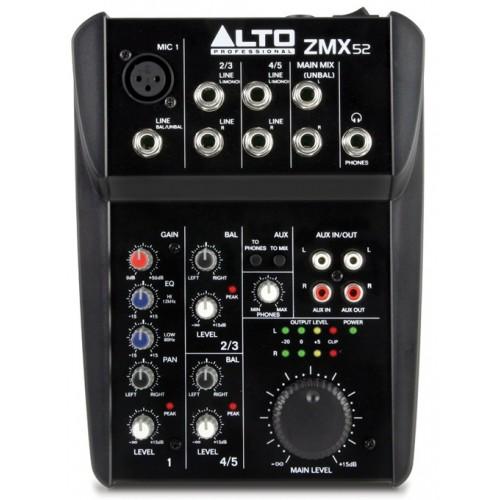 Микшерный пульт аналоговый Alto Professional ZMX52