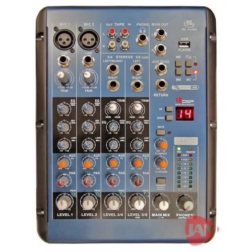 Микшерный пульт аналоговый Hl Audio SMR6