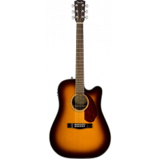 Электроакустическая гитара FENDER CD-140SCE SUNBURST WN