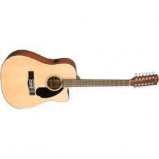 Электроакустическая гитара FENDER CD-60SCE-12 NATURAL