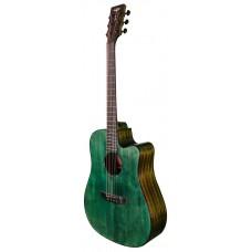 Электроакустическая гитара Tyma D-3C CG