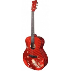 Электроакустическая гитара Tyma V-3 Koi