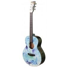 Электроакустическая гитара Tyma V-3 Spindrift Mini