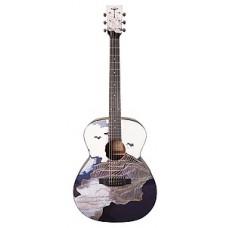Электроакустическая гитара Tyma V-3 Ukiyoe