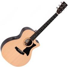 Электроакустическая гитара Sigma GTCE