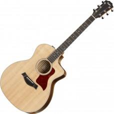 Электроакустическая гитара TAYLOR GUITARS 214ce-K DLX
