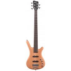 Бас гитара WARWICK RockBass Corvette Basic, 5-String (Honey Violin Transparent Satin)