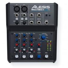 Аналоговый микшер ALESIS MULTIMIX 4 USB FX (Pro Tools)