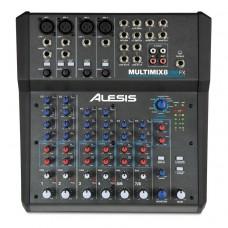 Аналоговый микшер ALESIS MULTIMIX 8 USB FX (Pro Tools)