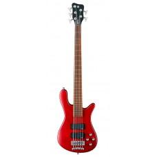 Бас гитара WARWICK RockBass Streamer Standard, 5-String (Burgundy Red Transparent Satin)