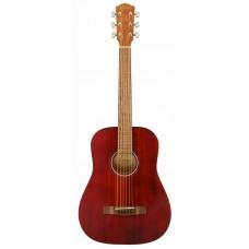 Акустическая гитара FENDER FA-15 STEEL 3/4 RED WN w/BAG