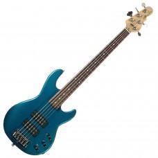 Бас гитара G&L L2500 FIVE STRINGS Emerald Blue
