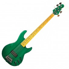 Бас гитара G&L L1505 FIVE STRINGS Clear Forest Green