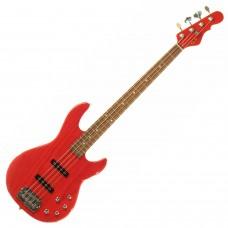 Бас гитара G&L MJ-4 Clear Red