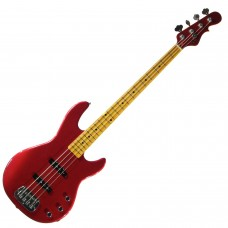 Бас гитара G&L JB2 FOUR STRINGS Candy Apple Red