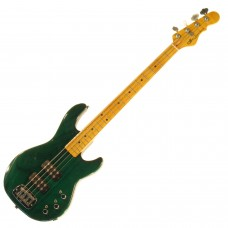 Бас гитара G&L L2000 FOUR STRINGS Clear Forest Green