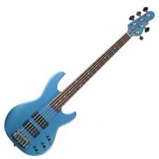 Бас гитара G&L L2500 FIVE STRINGS Lake Placid Blue
