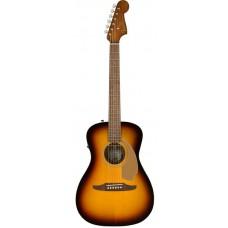 Электроакустическая гитара FENDER MALIBU PLAYER SUNBURST WN