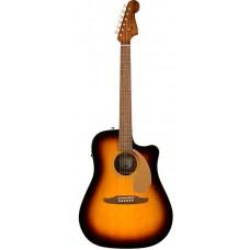 Электроакустическая гитара FENDER REDONDO PLAYER SUNBURST WN