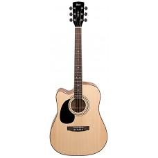 Электроакустическая гитара CORT AD880CE LH (Natural Satin)