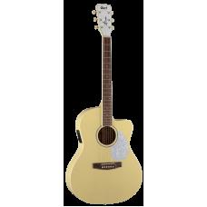 Электроакустическая гитара CORT Jade Classic (Pastel Yellow Open Pore)