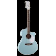 Электроакустическая гитара CORT Jade Classic (Sky Blue Open Pore)