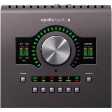 Аудиоинтерфейс UNIVERSAL AUDIO Apollo Twin X DUO Heritage Edition (Desktop/Mac/Win/TB3)
