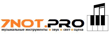 Музыкальный магазин в Запорожье 7not.pro